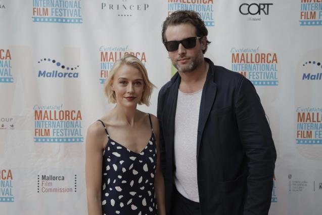 "Elen Rhys and Julian Looman, of the ""The Mallorca Files"""