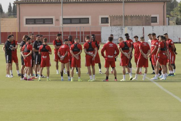 Real Mallorca at their training ground