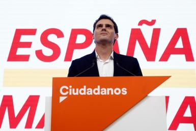 The leader of Spain's Ciudadanos, Albert Rivera.