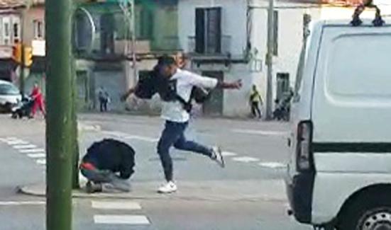 Scene of the incident on Calle Manacor