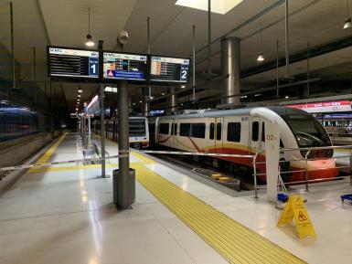 Palma's metro had broken down last Thursday.