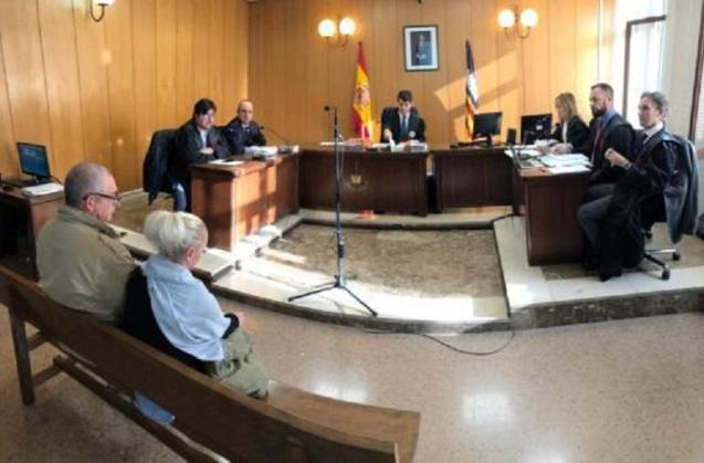 Court hearing in Palma
