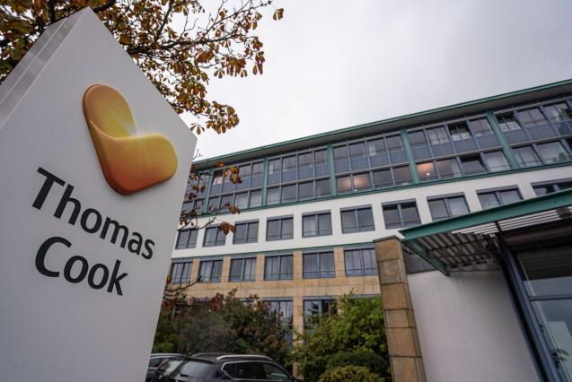 Thomas Cook office in Hesse, Germany
