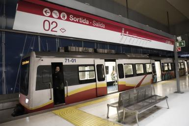 It is hoped that the Palma Metro extension to the ParcBit technology park will reduce the number of cars on the Via Cintura.