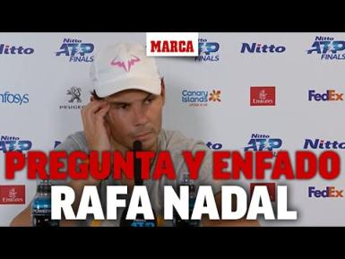 On Monday, after the Zverev match, a reporter asked this stupid question. This is how Rafa reacted...