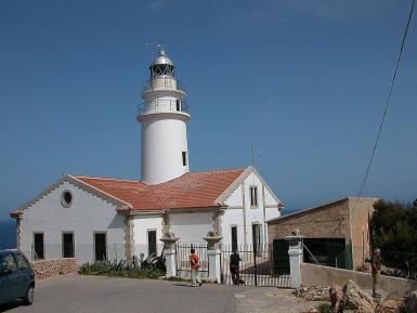 The lighthouse of Cala Ratjada is one of the most emblematic buildings of the municipality.