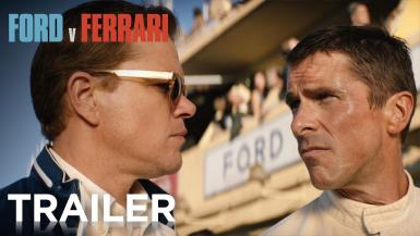 Academy Award-winners Matt Damon and Christian Bale star in FORD v FERRARI, based on the remarkable true story of the visionary American car designer Carroll Shelby (Damon) and the fearless British-born driver Ken Miles (Bale), who together battled corporate interference, the laws of physics, and their own personal demons to build a revolutionary race car for Ford Motor Company and take on the dominating race cars of Enzo Ferrari at the 24 Hours of Le Mans in France in 1966.