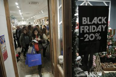 Black Friday offers huge retail discounts.