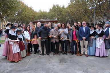 Inauguration of Dijous Bo in Inca.