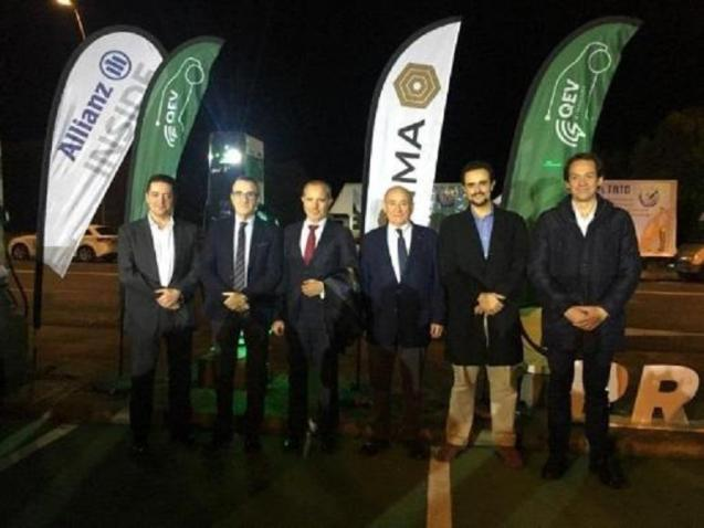 The inauguration of the Rapid Charging Station at Son Castello