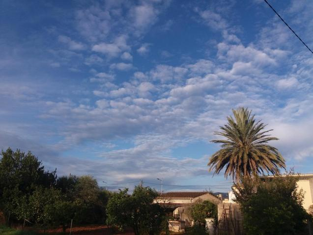Cloudy with sunny intervals