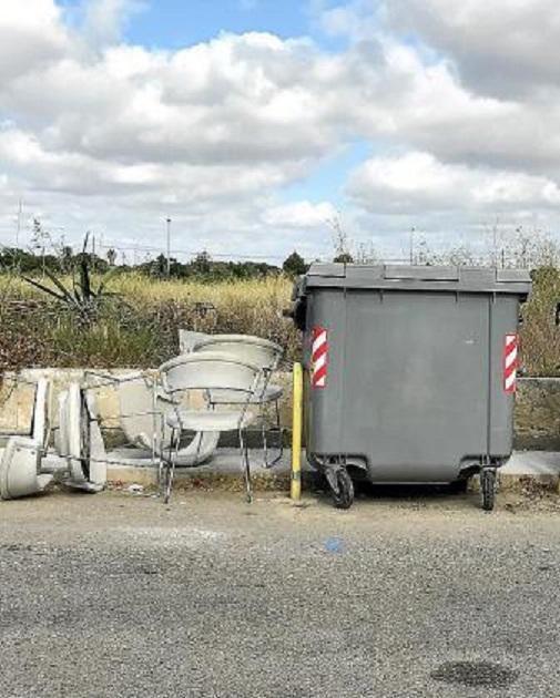 Rubbish in Manacor