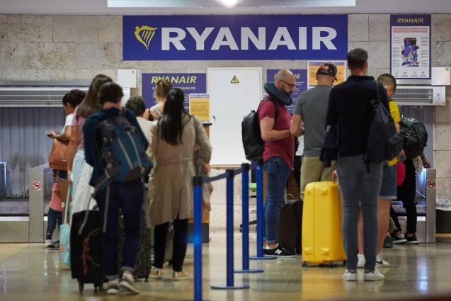 Ryanair has a strict policy regarding luggage