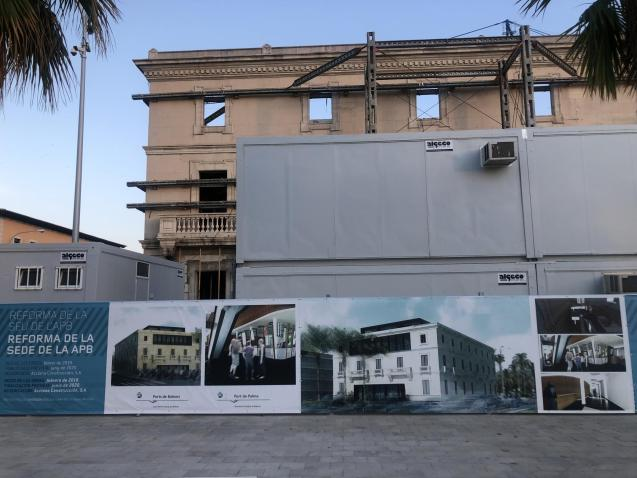 The former Port Authority headquarters in Palma