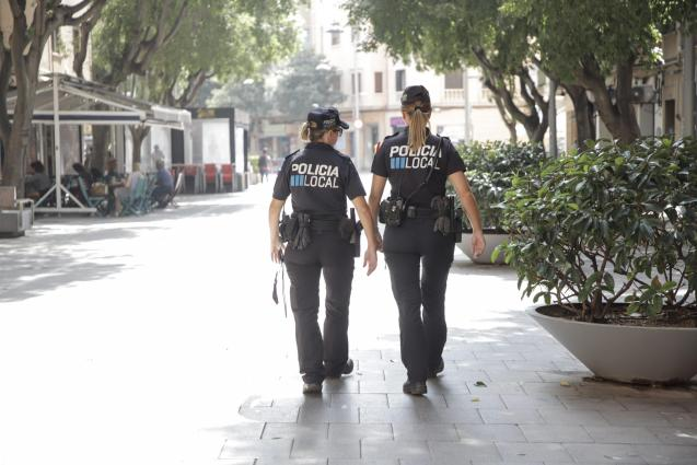 Local Police on patrol