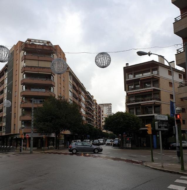 Grey and raining in Palma