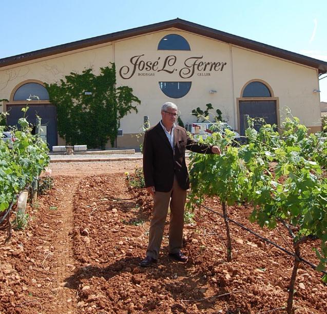 Jose L Ferrer winery in Binissalem