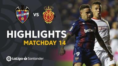 A great win of Levante against Mallorca in Ciutat de Valencia stadium with goals of Roger Marti and Rochina #LevanteRCDMallorca J14 LaLiga Santander 2019/2020.