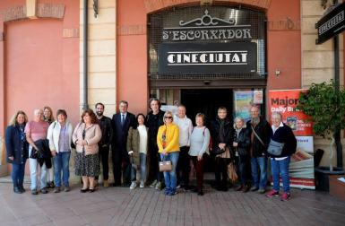 Some of our readers at the CineCiutat, Palma.
