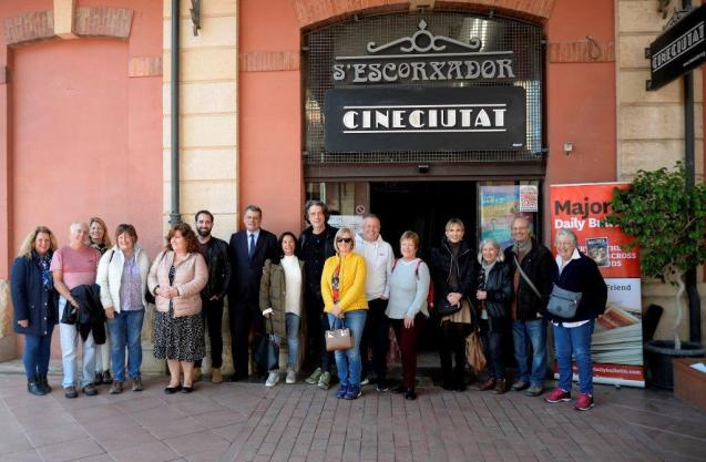 Some of our readers at the CineCiutat, Palma