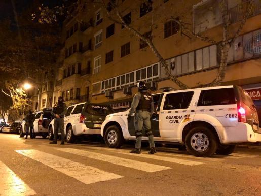 Drug squad in Palma