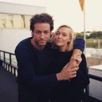 "Julian Looman and Elen Rhys , of the ""The Mallorca Files"""