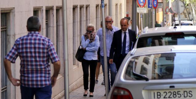 Renata G on her way to court