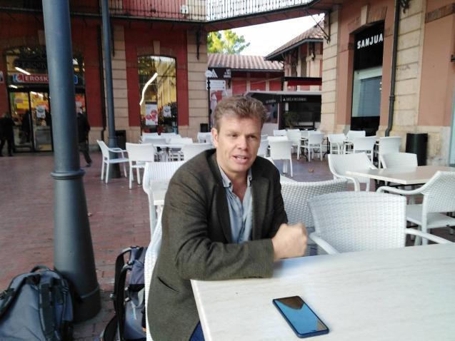 Ben Donald, executive producer of The Mallorca Files