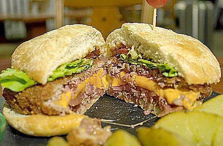 The 'cachopoburger'
