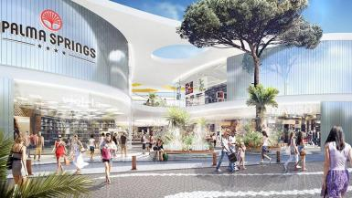 The developer Unibail Rodamco will obtain a commercial licence from the Government and hopes that the Palma City Council will grant it a building permit in the first half of 2020. Artist's impression of the complex.