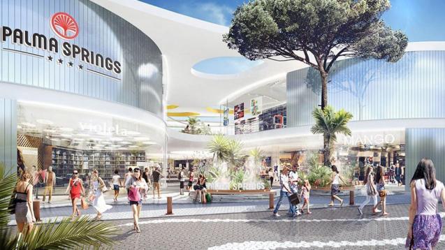 Palma Springs shopping centre at Ses Fontanelles.