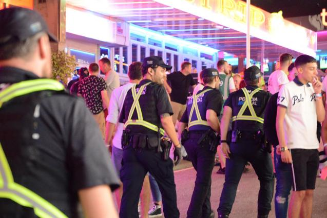 There is an increased police presence during the summer months