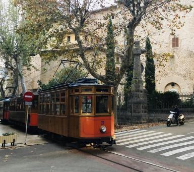 Soller tram.
