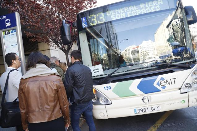 The incident took place on an EMT bus in Palma
