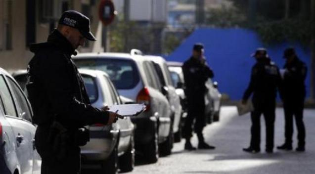 Local Police arrested the man at the scene in Palma