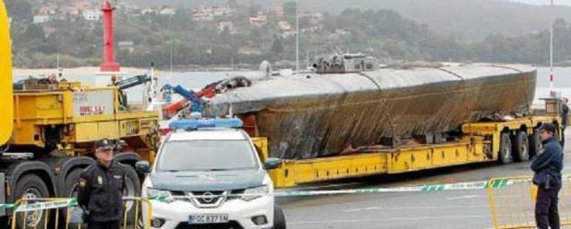 The drug packed submarine