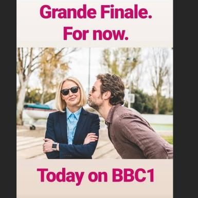 The series finale today on BBC1 of The Mallorca Files. Photo courtesy of Julian Looman, Instagram.