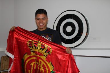 Mallorca's Colombian striker Cucho Hernandez.