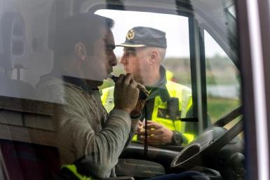 The Guardia Civil will be making 25,000 tests a day at various checkpoints.