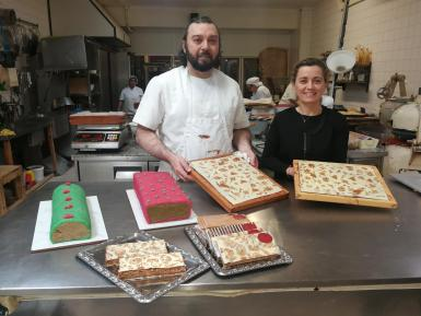 Young professional pastry chefs from Majorca are currently working hard on the production of new nougats with a classic cut.