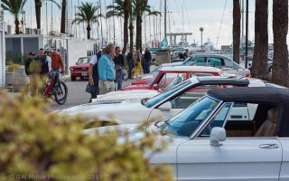 Lots of classics turned up for the Christmas Tapas Car Show