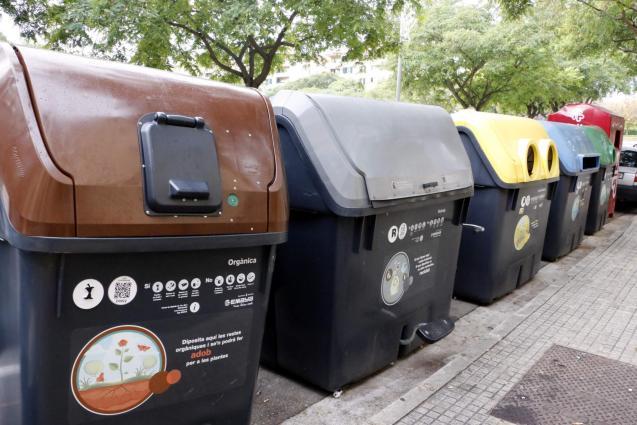 Recycling facilities in Majorca