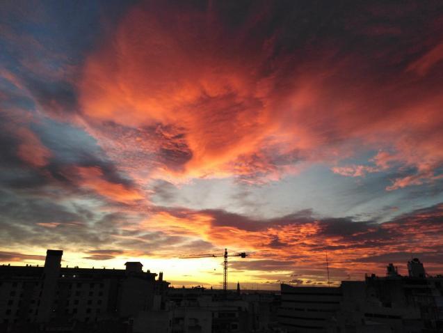 Beautiful skies in Palma