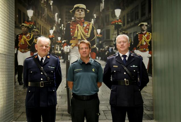 The Gardai were honoured for their services in Palma this summer