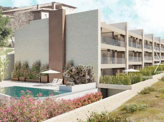 Artist's impression of the proposed apartments