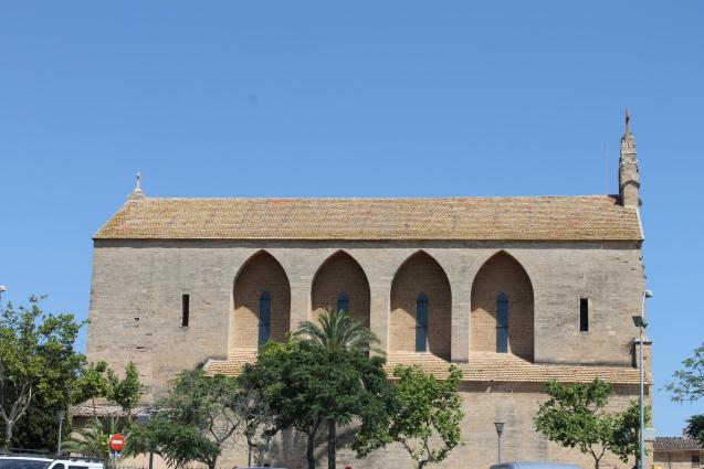 The church of Sant Jaume, Alcudia