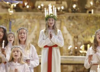 Santa Lucia celebrations at Palma cathedral