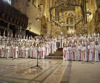 Santa Lucia celebrations at Palma cathedral