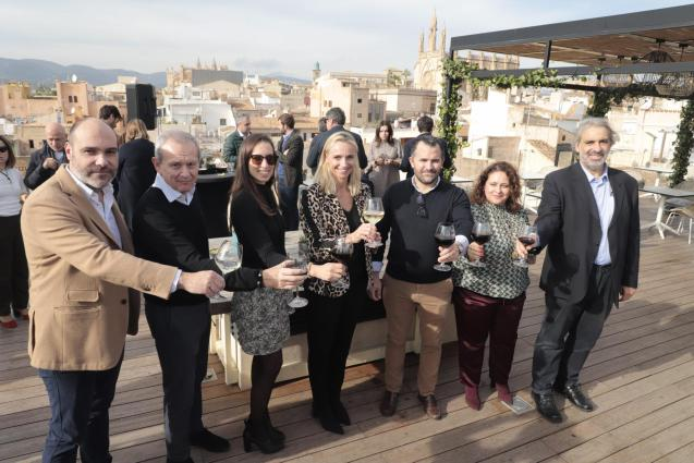 The Majorcan Hoteliers Federation held its Christmas drinks function