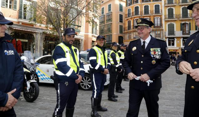 Palma's new chief of police took charge